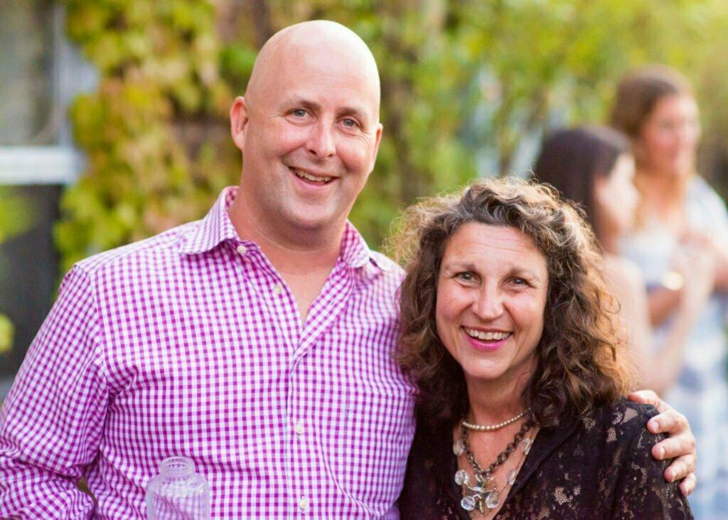 Gina Bria and Patrick Durkin