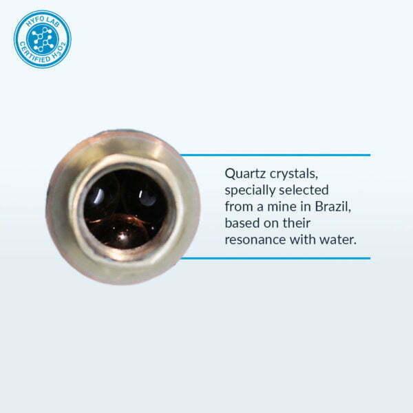 Aqua Energizer Under Sink structured Water Device Crystals