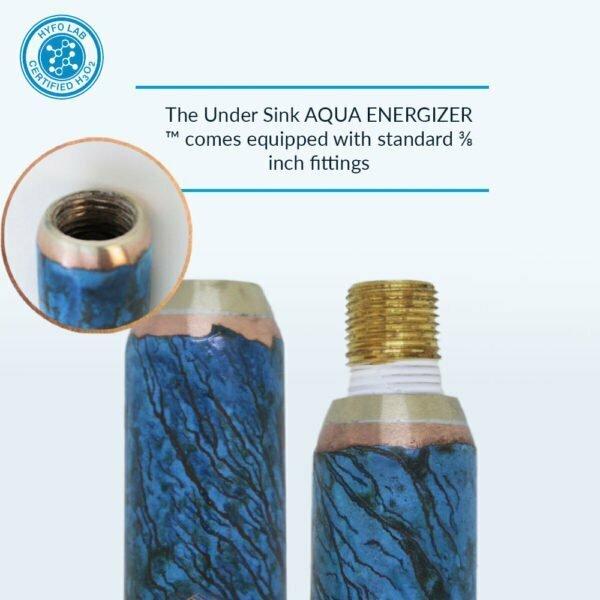Aqua Energizer Under Sink structured Water Device Threads