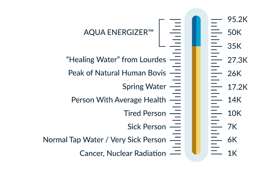 Aqua Energizer Bovis Scale