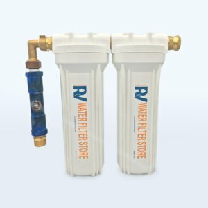 structured water filter system for rv boat truck bed garden camping